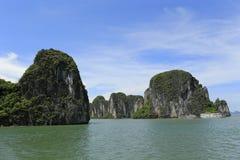 De lange baai van Ha in Vietnam royalty-vrije stock afbeelding