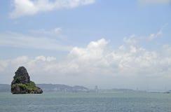 De lange baai van Ha in Vietnam royalty-vrije stock foto
