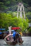 De lange Boot van de Staart Royalty-vrije Stock Afbeeldingen