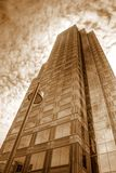De lange bouw in Pittsburgh Stock Fotografie