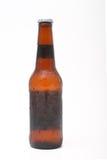 De lange fles van het halsbier Stock Afbeelding