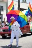 De lange Parade 2012 van de Trots van het Strand Lesbische en Vrolijke Royalty-vrije Stock Fotografie