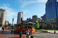 De Lange Werf van Boston Stock Afbeeldingen