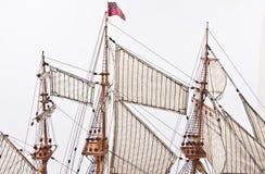 De langsligger van het schip Stock Foto