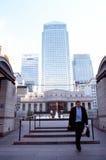 De langste gebouwen in Londen Stock Foto's