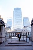 De langste gebouwen in Londen Stock Foto