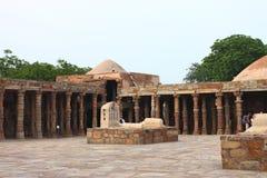 2de langste minar van Qutbminar in Delhi Stock Foto's