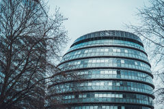 De langwerpige bureaubouw in Londen Stock Fotografie