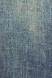 De langzaam verdwenen textuur van de denimstof Stock Fotografie