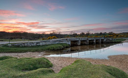 The De lank river in Cornwall Royalty Free Stock Image