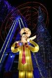 De lantaarn toont in zigong, China in 2014 Royalty-vrije Stock Afbeelding