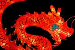 De lantaarn van de draak Stock Afbeelding