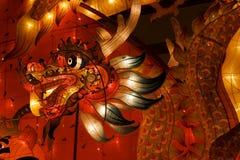 De Lantaarn van de draak voor een viering stock afbeelding