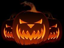 De Lantaarn van de Hefboom O van Halloween Stock Afbeeldingen