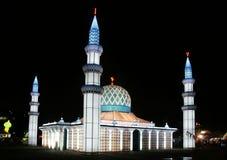 De lantaarn van de moskee Stock Foto