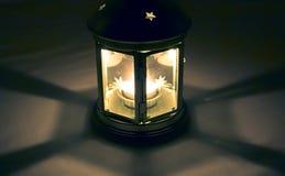 De Lantaarn van de nacht Royalty-vrije Stock Afbeeldingen
