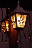 De lantaarn van de straat Stock Foto