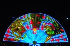 De lantaarn van de ventilator Stock Foto