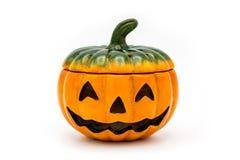 De lantaarn van Halloween Jack o Stock Afbeelding