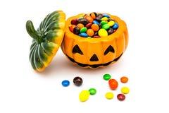 De lantaarn van Halloween Jack o Royalty-vrije Stock Afbeeldingen