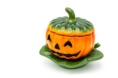 De lantaarn van Halloween Jack o Royalty-vrije Stock Foto