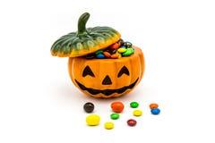 De lantaarn van Halloween Jack o Royalty-vrije Stock Foto's