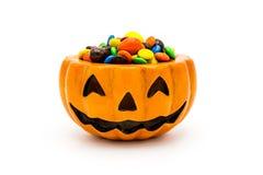 De lantaarn van Halloween Jack o Stock Fotografie