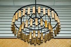 De lantaarn van het bamboe Royalty-vrije Stock Foto's