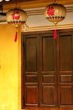 De lantaarn van het document in Hoi Vietnam royalty-vrije stock afbeeldingen