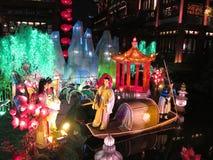De Lantaarn van het lantaarnfestival Stock Foto's