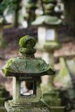 De lantaarn van Japan Mara Stone in tuin Stock Foto