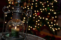 De Lantaarn van Kerstmis Royalty-vrije Stock Foto's