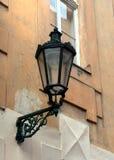 De lantaarn van Praag Stock Foto