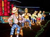 2014 de Lantaarnfestival van Taipeh Royalty-vrije Stock Foto