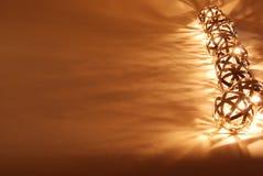 De lantaarns van de bal in een lijn royalty-vrije stock foto's