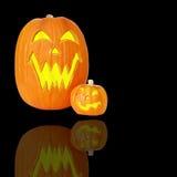 De Lantaarns van de Hefboom O van Halloween royalty-vrije stock foto's