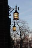 De lantaarns van de kerk Stock Afbeeldingen