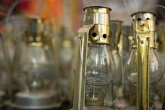 De lantaarns van de glasolie royalty-vrije stock afbeelding