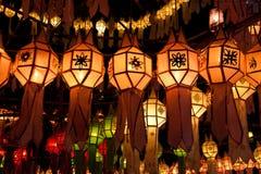 De lantaarns van het document Stock Afbeelding
