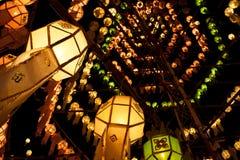 De lantaarns van het document Stock Foto