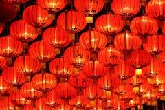 De lantaarns van het nieuwe jaar Royalty-vrije Stock Afbeelding