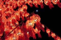 De lantaarns van Lanna royalty-vrije stock foto