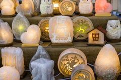 De lantaarns van de nachtliefde royalty-vrije stock foto's