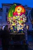 De lantaarntentoonstelling van Bazel Carnaval 2019 stock foto's