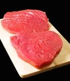 De lapjes vlees van de tonijn Royalty-vrije Stock Afbeelding