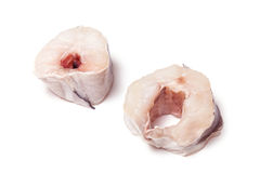 De lapjes vlees van kongeraalvissen Royalty-vrije Stock Foto's
