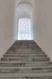 De largo con muchos pasos de las escaleras Imagen de archivo libre de regalías