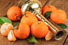 De las mandarinas todavía del este vida oriental Fotos de archivo