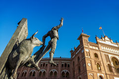 De Las Ventas Plaza de Toros in Madrid Lizenzfreie Stockbilder