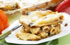 De lasagna's van deegwaren Royalty-vrije Stock Foto's